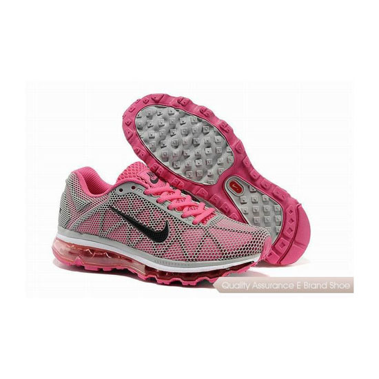 Nike Air Max 2011 Womens Pink Gray Sneakers