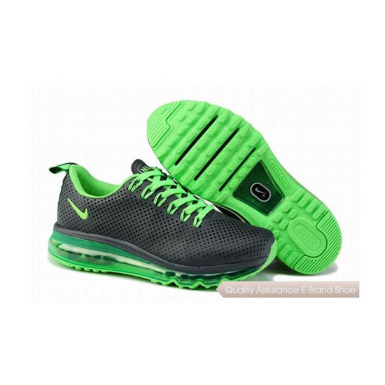 Nike Air Max 2013 NSW Womens Dark Gray Green Sneakers