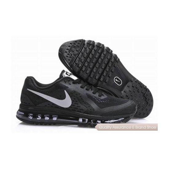 Nike Air Max 2014 Mens All Black Sneakers
