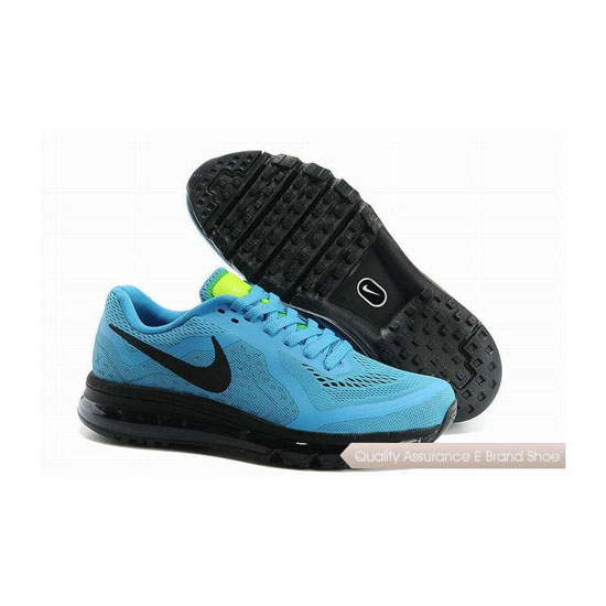 Nike Air Max 2014 Mens All Blue Sneakers