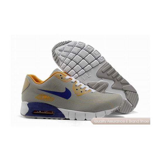 Nike Air Max 90 Unisex Gray Blue Sneakers