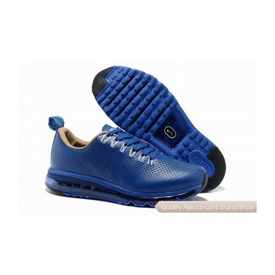 Nike Air Max 2013 II Mens All Blue Track Shoes
