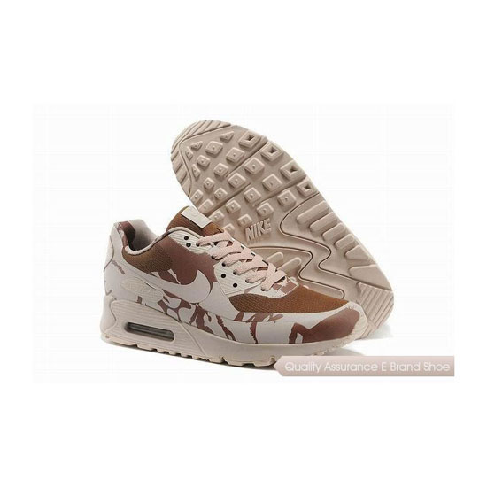 Nike Air Max 90 HYP SP Mens Desert Camouflage Hiking Shoes