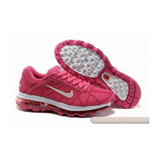 Nike Air Max 2011 Womens All Pink Sneakers