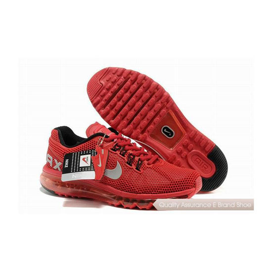 Nike Air Max 2013 KPU Womens All Gard Red Sneakers