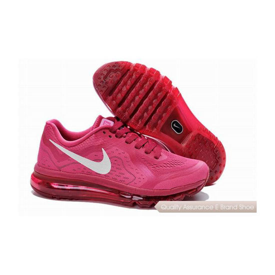 Nike Air Max 2014 Womens Pink White Sneakers