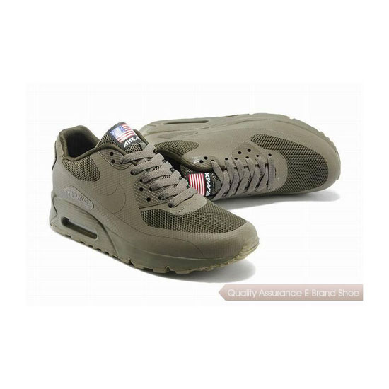 Nike Air Max 90 HYP QS Mens All Brown Sneakers