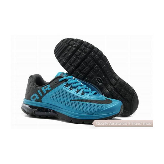 Nike Air Max Excellerate+2 Mens Blue Black Sneakers
