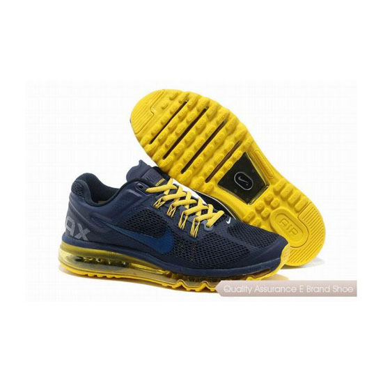 Nike Air Max 2013 Mens Dark Yelloy Sneakers