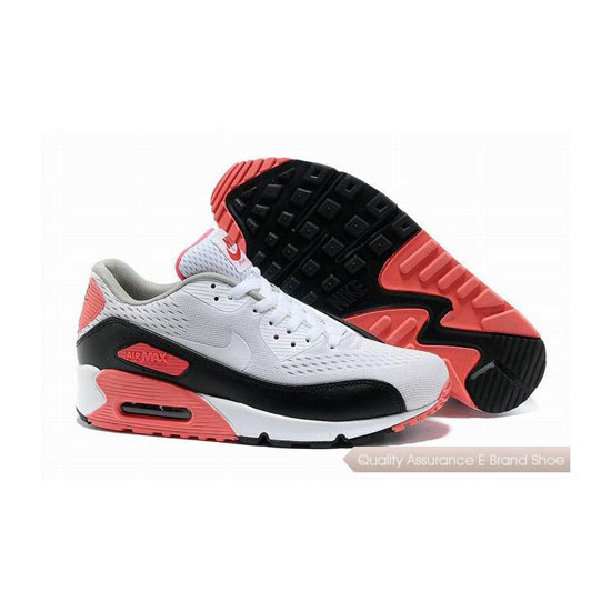Nike Air Max 90 PRM EM Unisex White Pink Casual Shoes