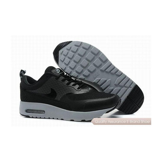 Nike Air Max 1 HYP PRM Unisex Black Gray Sneakers
