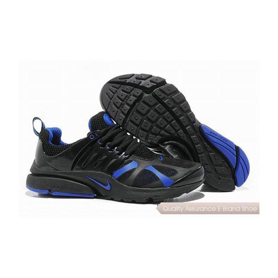 Nike Air Presto 4 Mens GT Sneakers Black Royal Blue