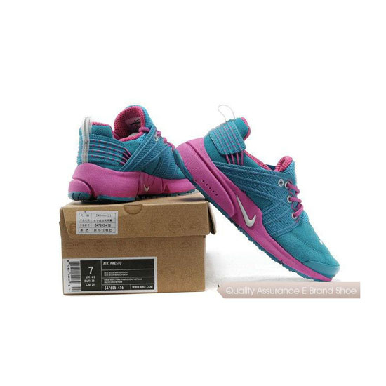 Nike Air Presto 6 Womens Anti Fur Blue Peach Blossom