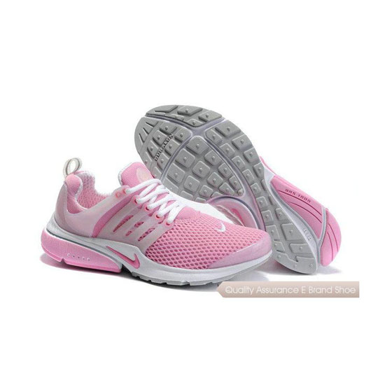 Nike Air Presto Mesh Womens Sneakers Pink White