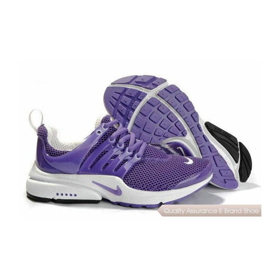 Nike Air Presto Mesh Womens Sneakers Purple White
