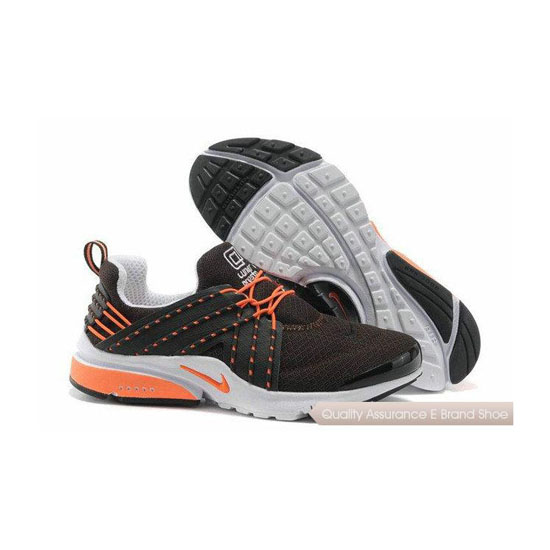 Nike Air Presto 6 Mens Mesh Sneakers Brown Salmon Pink