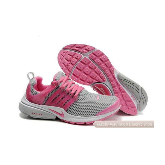 Nike Air Presto Mesh Womens Sneakers Gray Pink
