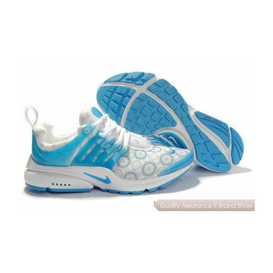 Nike Air Presto Mesh Womens Sneakers White Sky Blue
