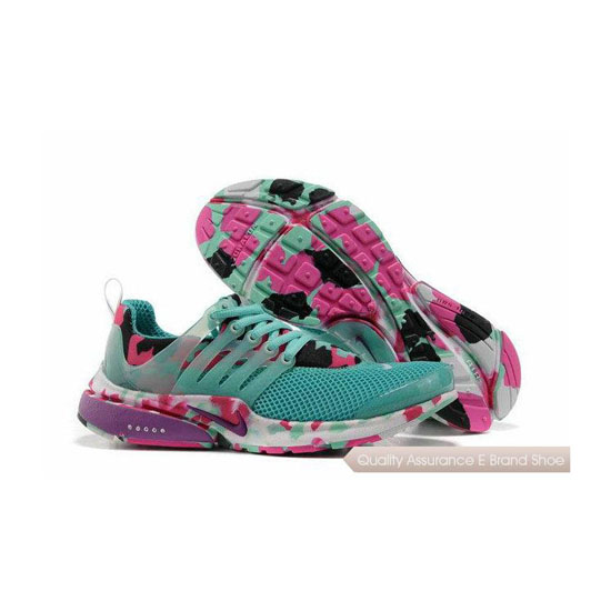Nike Air Presto Camouflage Womens Light Blue