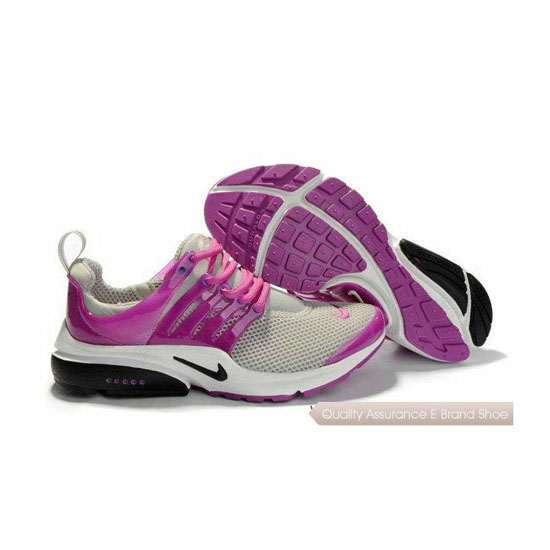 Nike Air Presto Mesh Womens Sneakers Gray Purple