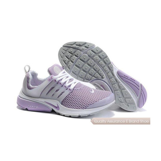 Nike Air Presto Mesh Womens Sneakers Light Purple White