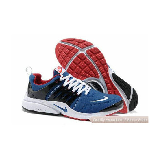 Nike Air Presto 5 Mens Flannelette Deep Blue Black Red