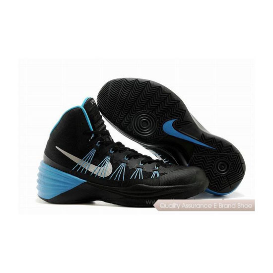 Nike Hyperdunk 2013 XDR Black-Blue Basketball Shoes