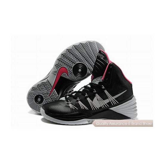 Nike Hyperdunk 2013 XDR Black/Grey/Pink Basketball Shoes