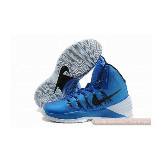 Nike Hyperdunk 2013 XDR Blue-Black-Grey Basketball Shoes