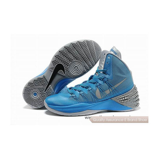 Nike Hyperdunk 2013 XDR Blue/Grey Basketball Shoes