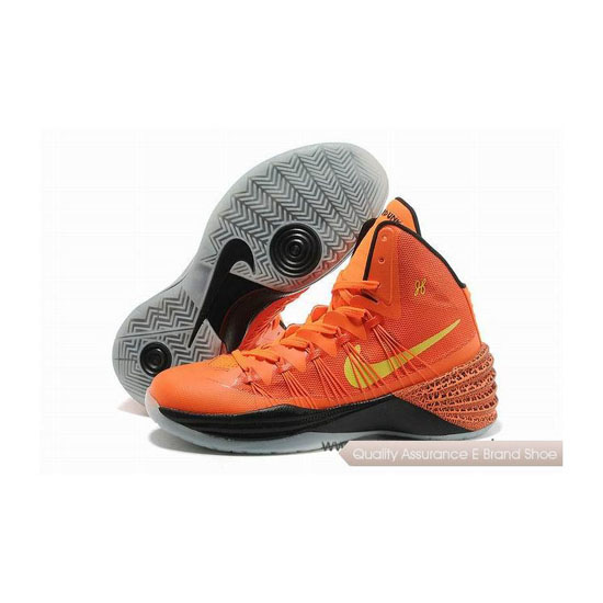 Nike Hyperdunk 2013 XDR Orange/Yellow/Black Basketball Shoes