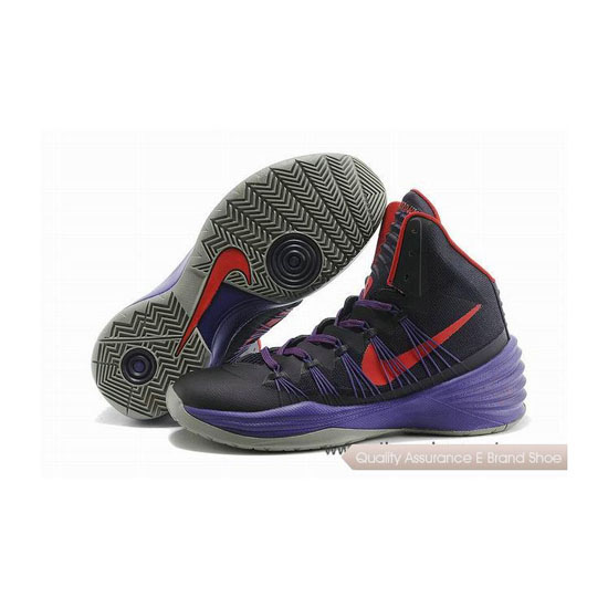 Nike Hyperdunk 2013 XDR Purple-Red Basketball Shoes