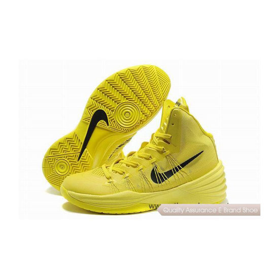 Nike Hyperdunk 2013 XDR Tartrazine Yellow Basketball Shoes