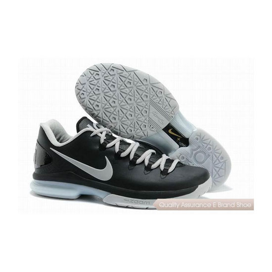 Nike KD V Low Black/Grey Basketball Shoes