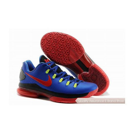 Nike KD V Low Royal Blue/Red/Black Basketball Shoes
