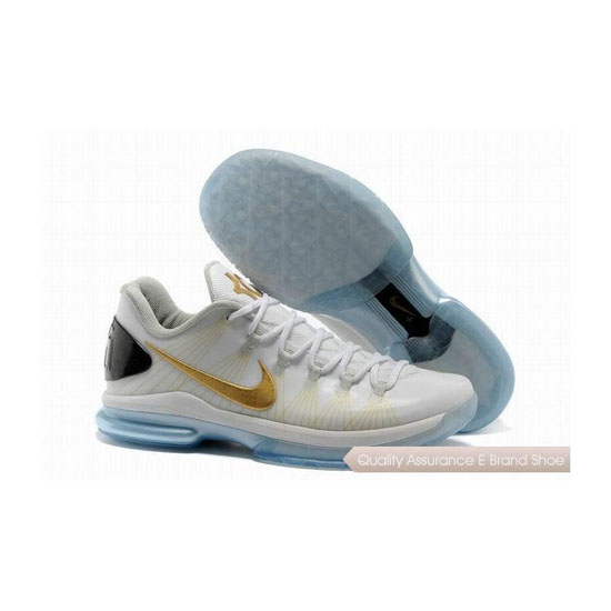 Nike KD V Metallic Gold Basketball Shoes
