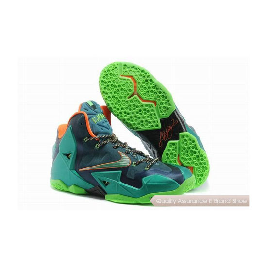 Nike LeBron 11 Akron Vs. Miami Basketball Shoes