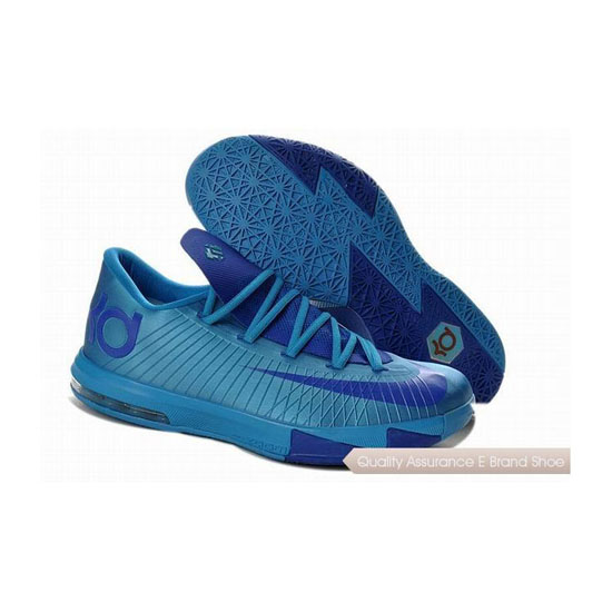 Nike Zoom KD VI Blue/Royal Blue Basketball Shoes