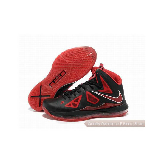 Nike Zoom Lebron 10(X) Basketball Shoes Red/Black