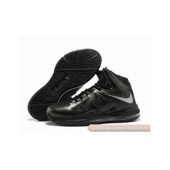 Nike Zoom Lebron 10(X) Black Basketball Shoes