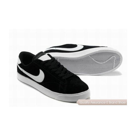 Nike Blazer III Mens Black White Skateboarding Shoes
