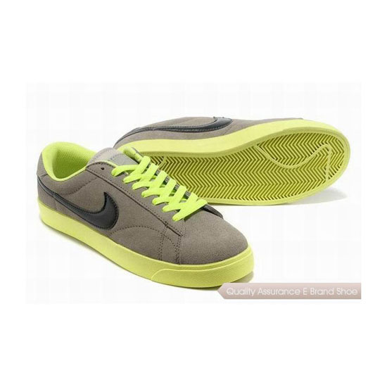 Nike Blazer III Mens Gray Black Skateboarding Shoes
