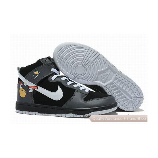 Nike Dunk Black White Mens Sneakers