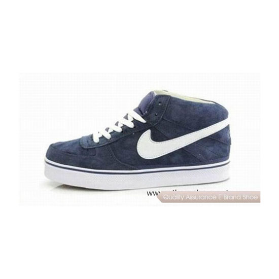 Nike Dunk Mid Blue Mens Sneakers