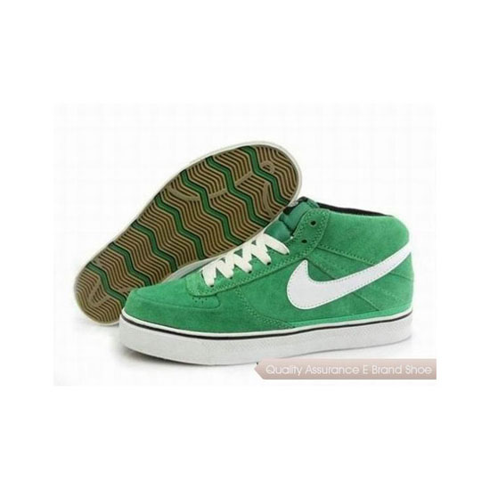 Nike Dunk Mid Green White Mens Sneakers