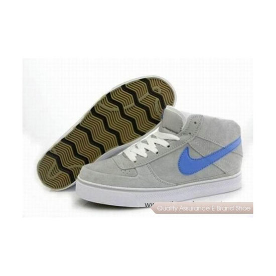 Nike Dunk Mid Grey White Mens Sneakers