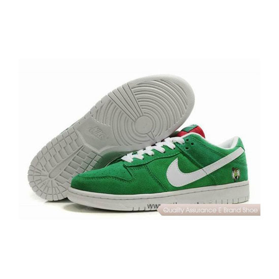 Nike Dunk SB Low green white Mens Sneakers