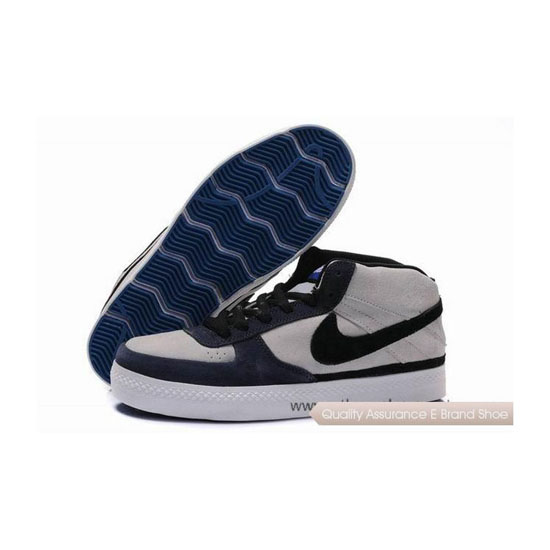 Nike Dunk SB Mid dark blue white black Mens Sneakers