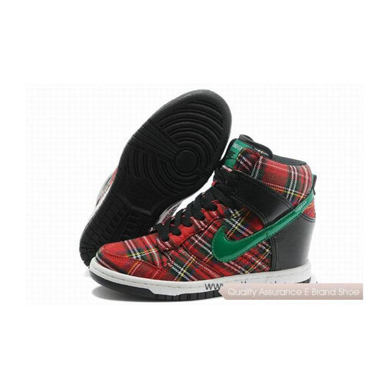 Nike Dunk Shy City Red Green Womens Sneakers