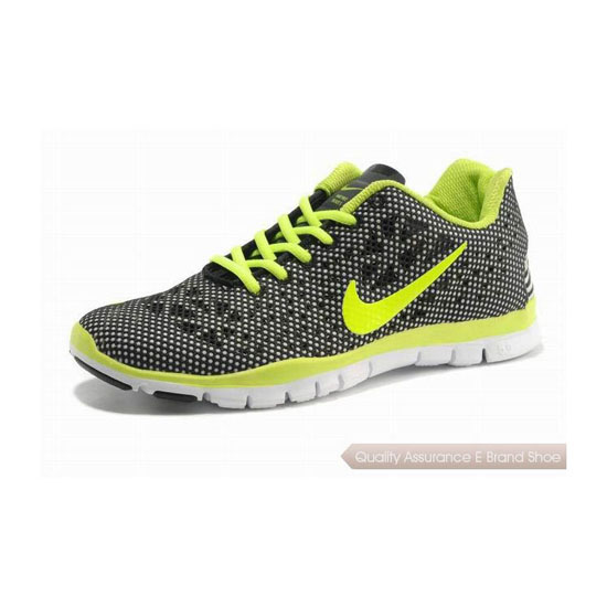 Nike Free TR Fit 3 Mens Running Shoe Black yellow